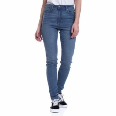 アーバンクラシックス Urban Classics レディース ジーンズ・デニム ボトムス・パンツ - High Waist Skinny Mid Stone Wash - Jeans blue