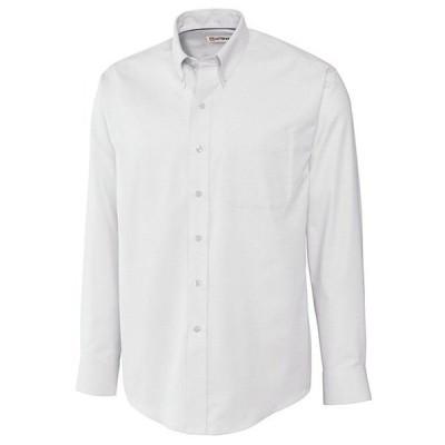 カッターアンドバック メンズ シャツ トップス Big & Tall Epic Easy Care Nailshead Long-Sleeve Woven Shirt