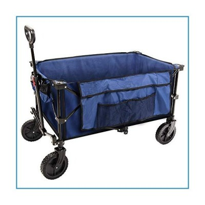 新品Coastrail Outdoor Collapsible Folding Wagon Utility Garden Cart 180lbs Heavy Duty All Terrain Universal Wheels & Telescoping Handle fo