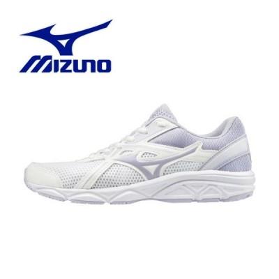 ミズノ マキシマイザー 22 Jr スニーカー ジュニア K1GC202067 シューズ 子供靴 男の子 女の子 男児 女児 白靴 ホワイト 白スニーカー 通学 通学靴
