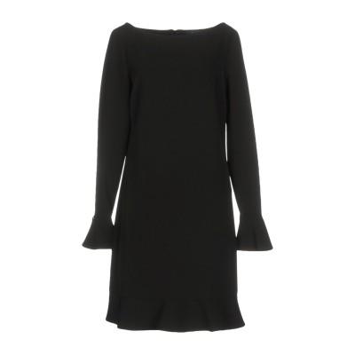 TWIN-SET JEANS ミニワンピース&ドレス ブラック L 90% ポリエステル 10% ポリウレタン ミニワンピース&ドレス