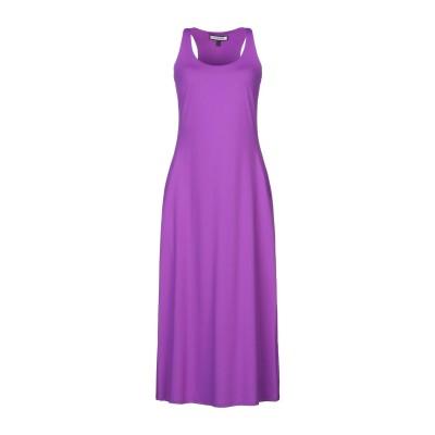 FISICO 7分丈ワンピース・ドレス モーブ S ナイロン 86% / ポリウレタン 14% 7分丈ワンピース・ドレス