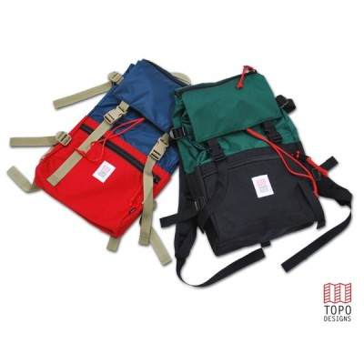 TOPO DESIGNS トポデザインズ ローバーパック ROVER PACK バッグパック リュックサック(3色) ROVER PACK