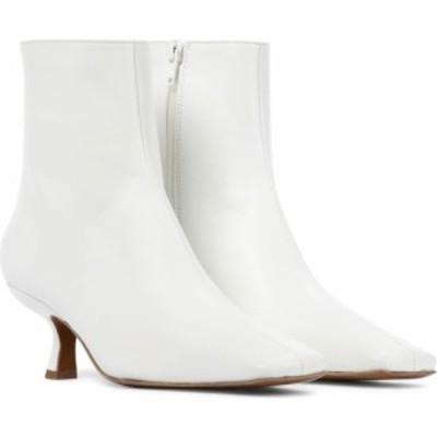 バイ ファー By Far レディース ブーツ ショートブーツ シューズ・靴 lange leather ankle boots White