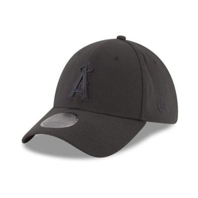 ニューエラ メンズ 帽子 アクセサリー Los Angeles Angels Blackout 39THIRTY Cap