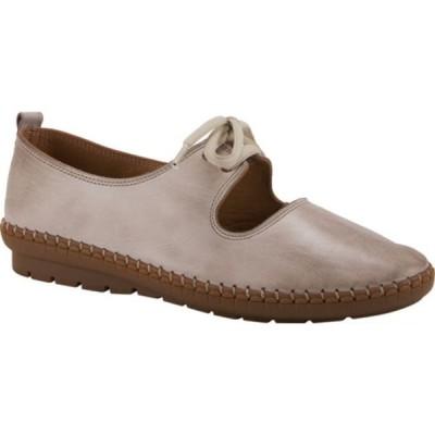 スプリングステップ サンダル シューズ レディース Kiasy Mary Jane (Women's) Taupe Leather