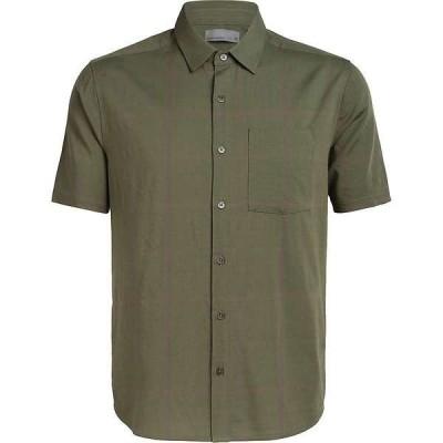 アイスブレーカー メンズ シャツ トップス Icebreaker Men's Compass SS Shirt