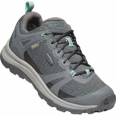 キーン Keen レディース ハイキング・登山 シューズ・靴 KEEN Terradora 2 Low Height Waterproof Hiking Shoes Steel Grey/Ocean Wave