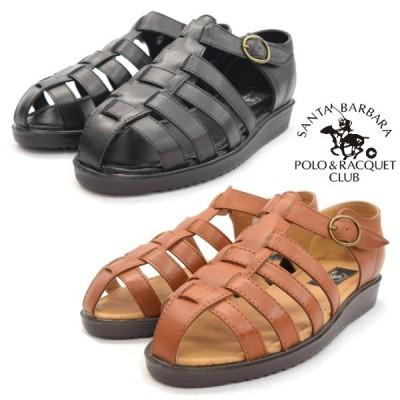 SANTABARBARA POLO&RACQUET CLUB サンタバーバラ ポロ&ラケットクラブ サンダル 合皮 380 靴 (nesh) (新品)