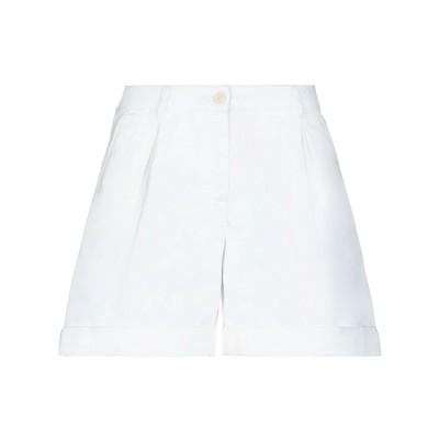 ベルスタッフ BELSTAFF ショートパンツ ホワイト 28 コットン 100% ショートパンツ