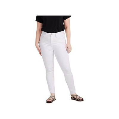 Madewell Curvy High-Rise Skinny Jeans in Pure White レディース ジーンズ Pure White