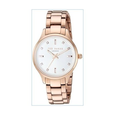 Ted Baker Women's Zoe Quartz Watch with Stainless-Steel Strap, Rose Gold, 14 (Model: TE50006001)並行輸入品