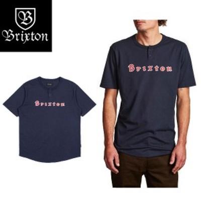 【BRIXTON】ブリクストン 2018春夏 PROXY S/S HENLEY メンズ半袖Tシャツ ヘンリーシャツ ティーシャツ ショートスリーブ トップス