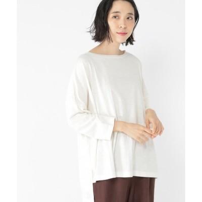 tシャツ Tシャツ スラブポンチョ風プルオーバー