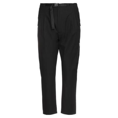 メッサジェリエ MESSAGERIE パンツ ブラック 52 コットン 100% パンツ