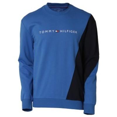 【即納】トミー ヒルフィガー Tommy Hilfiger メンズ スウェット・トレーナー トップス MODERN ESSENTIALS PULLOVER 964 HAMPTON BLUE ク