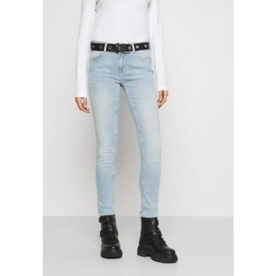 レディース ファッション ONLCARMEN LIFE - Jeans Skinny Fit - light blue denim