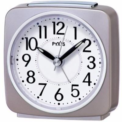 セイコー NR440P(薄ピンクパール) PYXIS 目覚まし時計