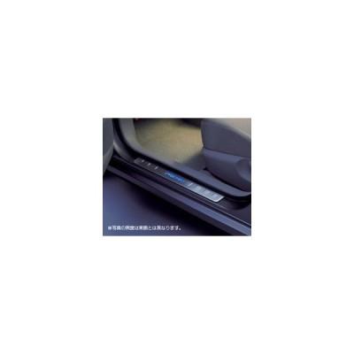 トヨタ純正 イルミネーション付スカッフプレートセット [スカッフイルミネーション] プレミオ 260系