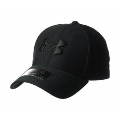 アンダーアーマー メンズ 帽子 アクセサリー Blitzing 3.0 Cap Black/Black/Bla