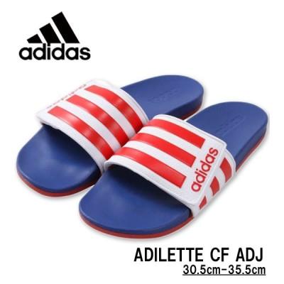 大きいサイズ メンズ adidas(アディダス) サンダル(ADILETTE CF ADJ) 30.5cm 31.5cm 32.5cm 34.5cm 35.5cm