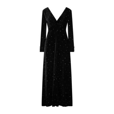 フォルテ フォルテ FORTE_FORTE ロングワンピース&ドレス ブラック 3 レーヨン 82% / ナイロン 18% ロングワンピース&ドレス