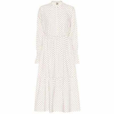 バウム ウンド ヘルガーデン Baum und Pferdgarten レディース ワンピース ワンピース・ドレス Alexy fil coupe cotton dress Egret Eart