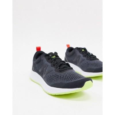 ニューバランス メンズ スニーカー シューズ New Balance freshfoam arishi sneakers in black Black