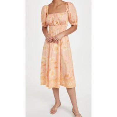 スペル SPELL レディース ワンピース ワンピース・ドレス Sloan Soiree Dress - Peach Peach