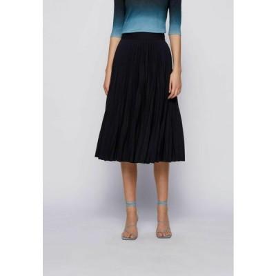 ボス レディース ファッション A-line skirt - open blue