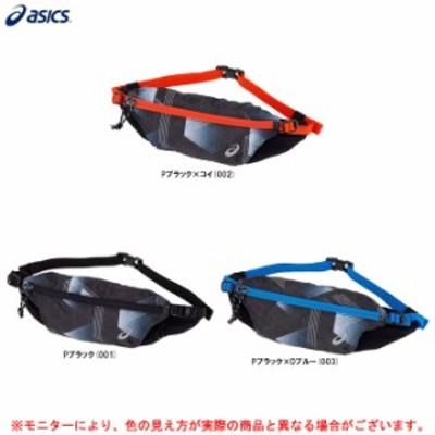 ASICS(アシックス)グラフィックアンダー4ポーチ(3013A410)ランニング ジョギング ウエストポーチ ウエストバッグ ボディバッグ