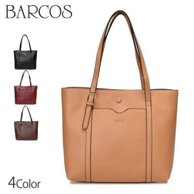 バッグ レディース BARCOS 3層ポケット2WAYレザートート レディース 全4色 ONESIZE バルコス