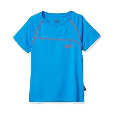 [ジャックウルフスキン] Tシャツ アクティブTシャツB (W1605141) キッズ W1605141 1152ブリリアントブルー UK