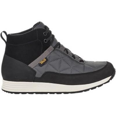 テバ メンズ ブーツ&レインブーツ シューズ Ember Commute Waterproof Boot - Men's Black/Grey