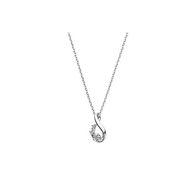 [VAヴァンドーム青山] ネックレス GPAN010840DI プラチナ ドロップ ダイヤモンドネックレス