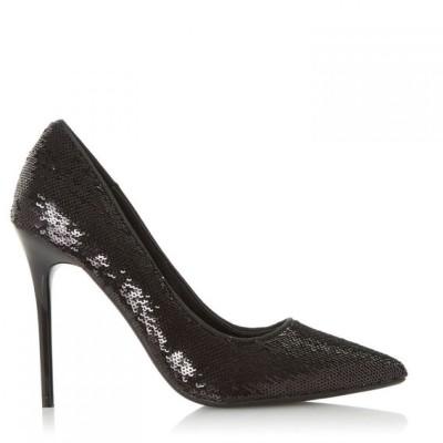 ヘッドオーバーヒールズ Head Over Heels レディース パンプス シューズ・靴 Ariaa Sequin Court Shoes Black