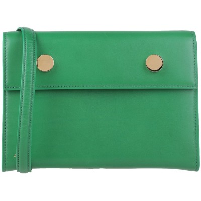 RSVP ハンドバッグ グリーン 革 ハンドバッグ