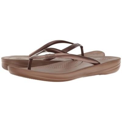 フィットフロップ FitFlop レディース ビーチサンダル シューズ・靴 Iqushion Ergonomic Flip-Flop Bronze