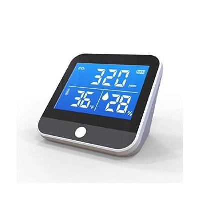 送料無料!Indoor CO2 Meter Temperature and Relative Humidity Carbon Dioxide Detector Analyzer Air Quality Monitor for Living Room, Bedr