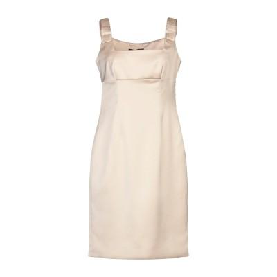 COMPAGNIA ITALIANA ミニワンピース&ドレス ベージュ 42 ポリエステル 97% / ポリウレタン 3% ミニワンピース&ドレス