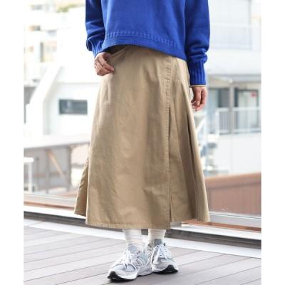 スカート BEAMS BOY / ラップ プリーツ スカート 0554CL