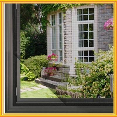 簡易網戸 張り替え 小窓用貼るだけ防虫網 簡単取り付け 蚊防ぐあみど DIYキット虫よけ編み戸 防虫ネット 補修