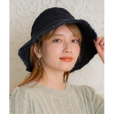 BASE / フリンジバケットハット WOMEN 帽子 > ハット