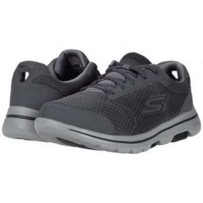 SKECHERS Performance スケッチャーズ メンズ 男性用 シューズ 靴 スニーカー 運動靴 Go Walk 5 Qualify Charcoal/Black【送料無料】
