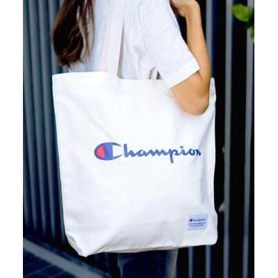 LB/S / 【CHAMPION/チャンピオン】ロゴトートバック/チャンピオン/ロゴプリント MEN バッグ > トートバッグ