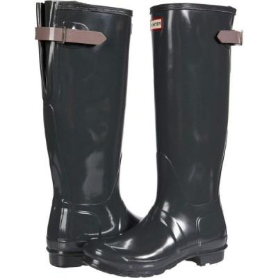 ハンター Hunter レディース レインシューズ・長靴 シューズ・靴 Original Back Adjustable Gloss Rain Boots Firth/Atlantis