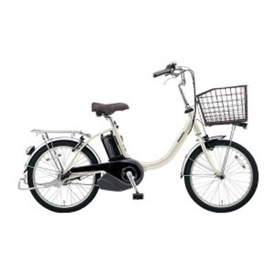 PANASONIC BE-ELL032-S ウォームシルバー ビビ・L・20 [電動アシスト自転車(20インチ・内装3段)]