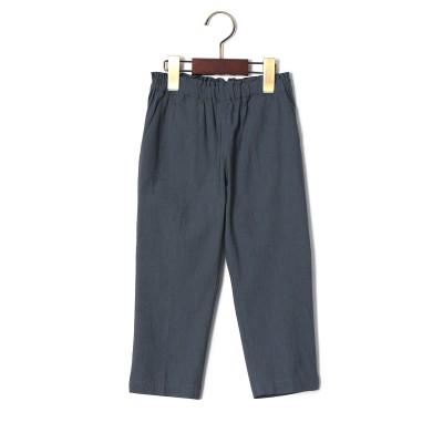 7分丈 パンツ ネイビー bm(90)