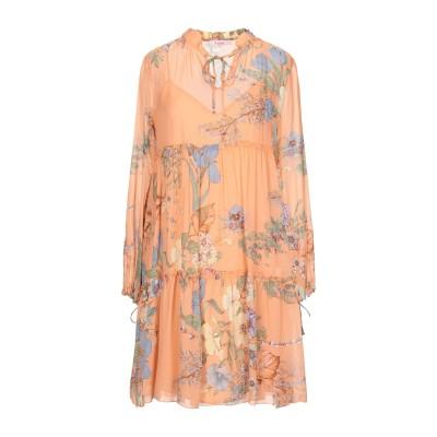 ブルーガール ブルマリン BLUGIRL BLUMARINE ミニワンピース&ドレス あんず色 38 レーヨン 100% ミニワンピース&ドレス