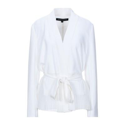 フレンチコネクション FRENCH CONNECTION テーラードジャケット ホワイト 6 ポリエステル 65% / レーヨン 31% / ポリウ